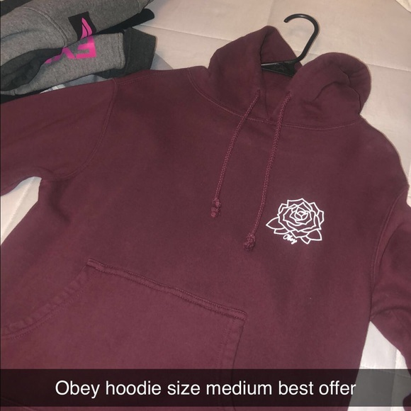 Obey Tops - Obey hoodie